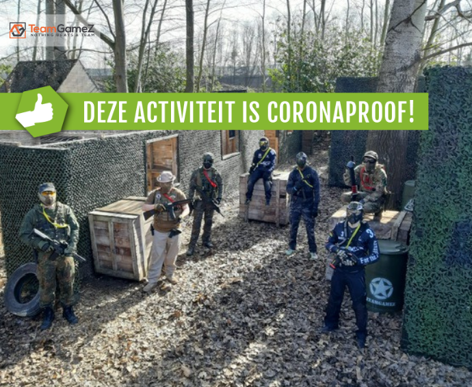 TeamGamez coronaproof airsoften