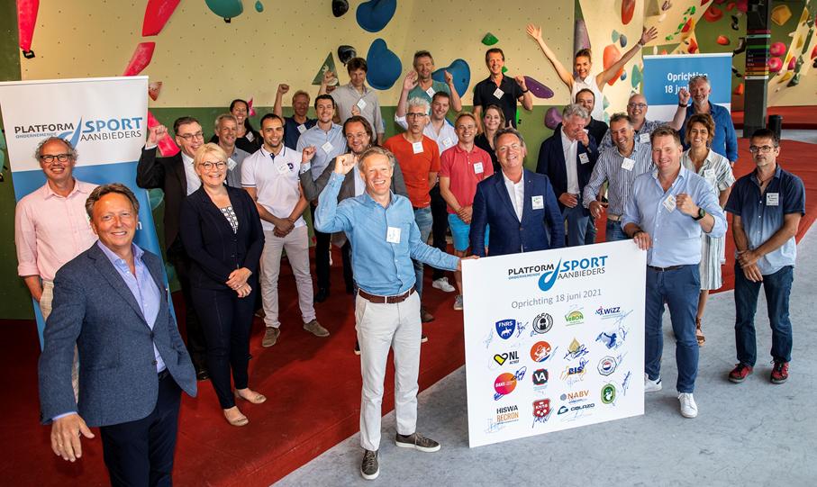 oprichting platform ondernemende sportaanbieders